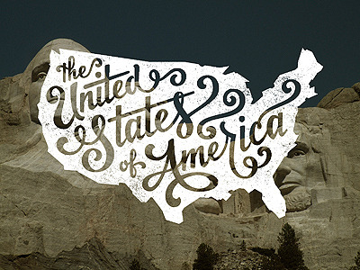 typeverything:  Typeverything.com, The United States of America by Jude Landry