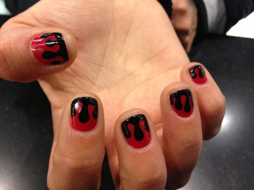 DRIPPY BY WAH GURL LOUI #nails #nailart