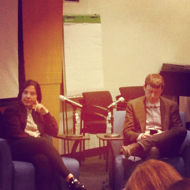 Fred and Joanne Wilson fireside chat