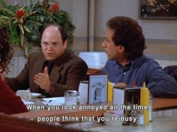 iantomkins:  The greatest advice in the history of Seinfeld.