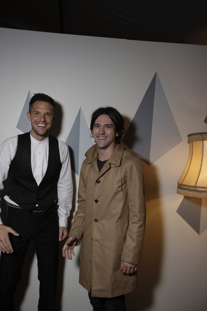 imwideawakeitsmornin:  thekillersspain:  Brandon Flowers and Conor Oberst. Norway, 2011.  I just died