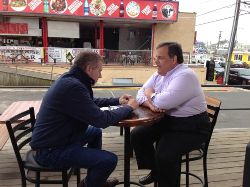 EXCLUSIVE: New Jersey Governor Chris Christie tells Brian Williams about his decision to get weight-loss surgery. Tonight on NBC Nightly News.
