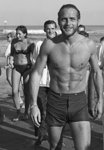 knotformation:  maudelynn:  Paul Newman in Lido, Venice, 1963  Swoon.