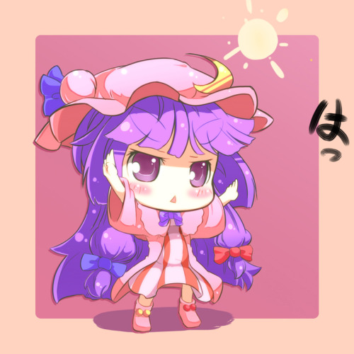 Patchouli Knowledge from Touhou, by mintmochi (artist).