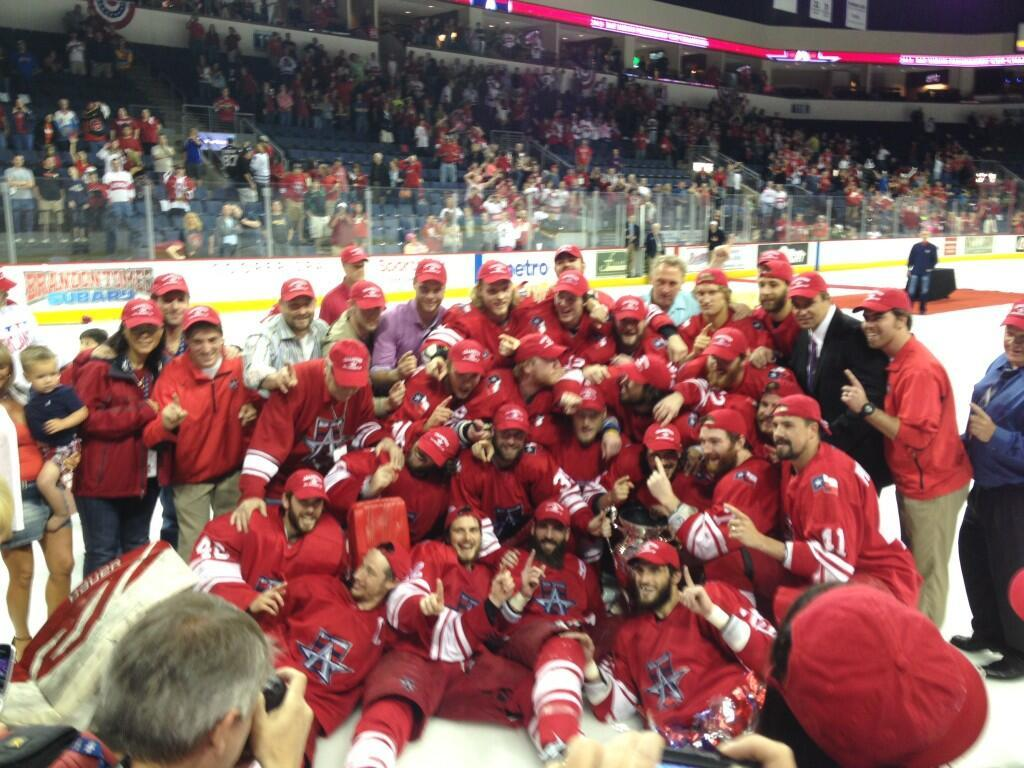 The Allen Americans are your Central Hockey League Champions. Via Justin Daniels