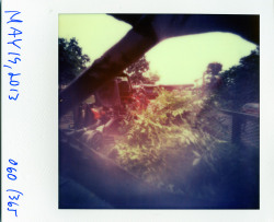 instantyear:  CB-72, f/146, Impossible Project PX 70 Color Protection, 7 seconds