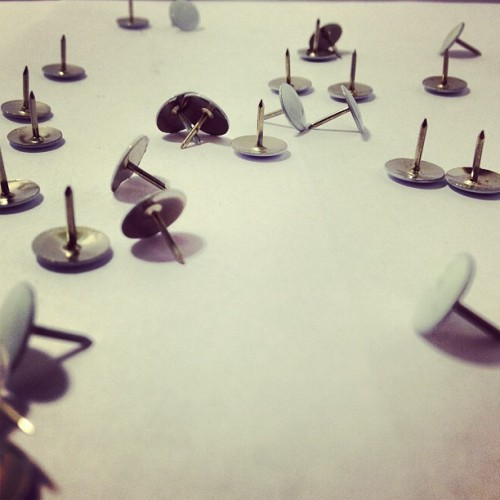Thumbtacks.