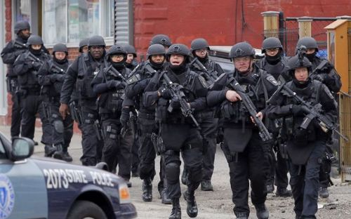 laughingsquid:  This Is What It Looks Like When the Police Shut Down a City