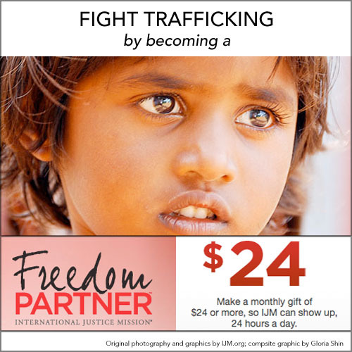 Fight slavery by becoming a Freedom Partner. Only $24 month. Your money goes so far. Reblog me. You can do something about modern day slavery.