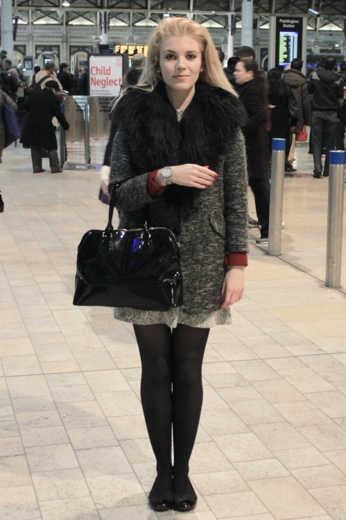 Me, stood at Paddington station :)