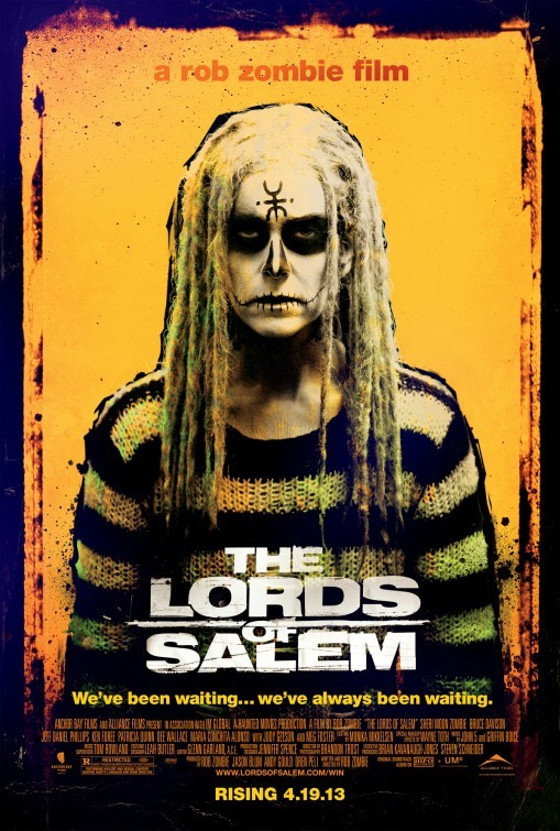REVIEW: THE LORDS OF SALEM Most art is self-indulgent, but three out of four of writer-director Rob Zombie's films have been freakishly aggressive, excessively ugly assaults on the senses. The jury is still out on whether or not the shock rocker-turned-shock filmmaker is actually going places as a horror-genre auteur. He's normally more of an assailant than a director, wallowing in grubby, obnoxious white-trash freak shows. But, as relentlessly violent and twisted as Sir Zombie's work is, his films do boast some sort of fascinating allure that's hard to articulate. CLICK HERE TO READ THE FULL REVIEW AT FESTIVAL OF FILMS!