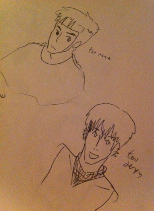 Sketches i haven't post for the past month or so 2/2