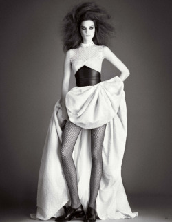 stormtrooperfashion:  Kati Nescher by Daniele Duella & Iango Henzi for Vogue Germany, May 2013 See more from this set here.