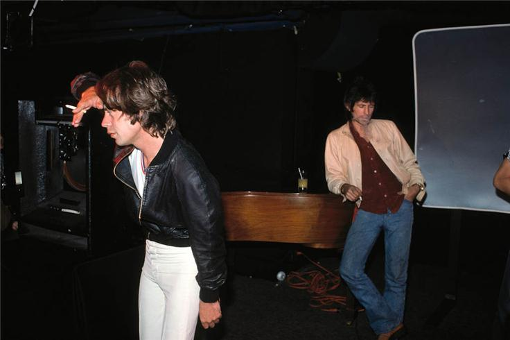 Mick Jagger & Keith Richards BACKSTAGE
