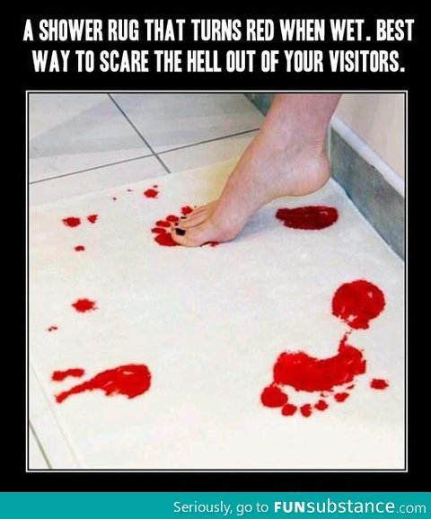 Brilliant Shower Rug