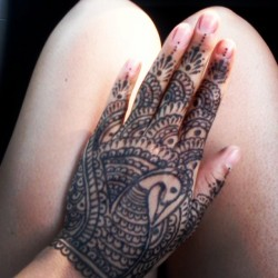 Tat tat tatted up! Wish it was real.  #Henna