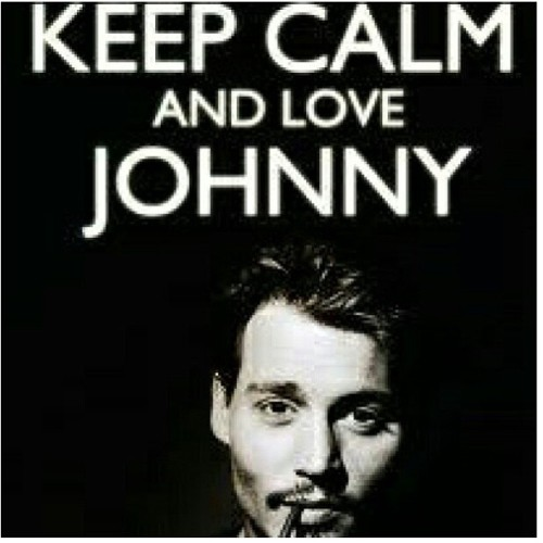 #KeepCalm #JohnnyDepp #FavoriteActor 👌😌☺