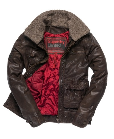 wantering:  Superdry Tarpit Flight Jacket