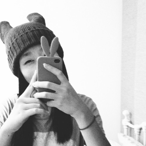 Ears ears ears! 🐰🐯🐰🐻 #selfie #selca #bored #night #ears #instacute #instagood #instacool #asian