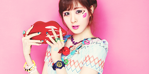 "SEOHYUN  Birth Name: Seo Joo Hyun DOB: June 28, 1991 Blood Type: A  EXTRA FACTS! She once brainwashed Taeyeon into watching Keroro.  Seohyun is fluent in Korean, Chinese and English She really does cares about her unnies  Once, she gave her ""husband"" (yonghwa of cn blue) antibiotic made out of natural honey because he's recovering from vocal nodules She thinks guys are gross She is fond of wearing headbands TaeYeon said that Seohyun made ""The members"" looked like bad people because Seohyun insisted that she doesn't want to leave honorifics because she's scared of how the members will realitate (Intimate Note) Seo is known for her fail aegyo because she sometimes try to do somthing cute but end up fail Seohyun said to Taeyeon's WGM Husband, Hyungdon, that all that bad diets will accumulate and eventually you will die… She once played the role of a doll in SEOUL MV paired up with SuJu's maknae, Kyuhyun. She once attempted to post all 1000 Keroro stickers around the girls dorm. Her unnies prevented her from doing it.  Once she admitted on ShimShim TaPa that whenever the girls wake up, She usually wake up Fany first because she has a loud voice for waking up the girls. ^^."