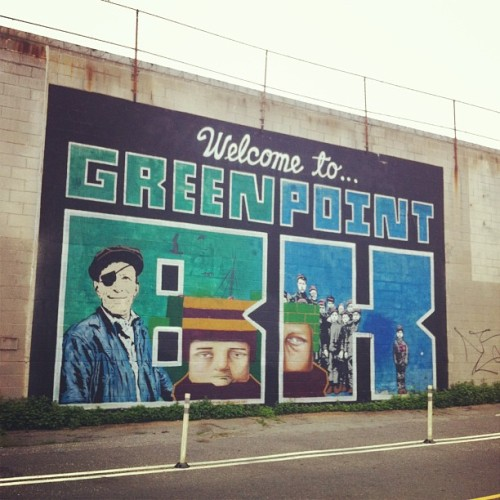 Greenpoint was one of the interesting neighbourhoods we saw on our Brooklyn bike tour. Sadly there are no pictures because it was raining the whole time!