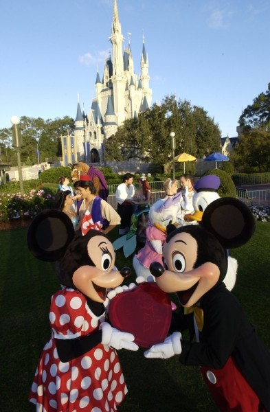 "expedition-disney:   True Love Week Details!  Love is in the air at Walt Disney World Resort as fairytale princesses find true love with their princes, and ""happily ever after"" becomes reality. The weeklong event celebrates the love of friends and family, and invites couples to rekindle the flame. Here is the lineup: Romantic Setting: Guests will feel the romance at every turn, as banners proclaiming True Love, heart-shaped signage and sweetheart-themed décor adorn the Magic Kingdom. Blushing Castle: At dusk, hues of pink, red, lavender and blue bathe Cinderella Castle with themed lighting synced to a musical melodies adding to the ambiance. Dinners for Two: Candlelit dinners for two with prix fixe menus at select restaurants  during the most romantic week of the year.  Specially-created menus at Artist Point (Disney's Wilderness Lodge Resort);  The Wave…of American Flavors (Disney's Contemporary Resort); Hollywood Brown Derby (Disney's Hollywood Studios); Yachtsman Steakhouse (Disney's Yacht Club Resort) make an ideal setting for a romantic evening. Valentine's-themed Takeaways: Limited-edition pins, plushes, newly-designed apparel and Vinylmations available at select merchandise locations. Royal Gathering:  The rare opportunity to get a photo with Disney Princes as they escort their Princesses to enchanting character greeting locations. In Town Square Theater you may find Mickey and Minnie, Aurora with Phillip or Rapunzel and Flynn. Mary Poppins joins Bert in Fantasyland, while Prince Naveen and Princess Tiana meet guests in the Enchanted Glade in Liberty Square. Romantic Photo Locations in Magic Kingdom with your Sweetie: Carriage Awaits: New Fantasyland invites lovers to create memories alongside Cinderella's Glass Coach situated by the new Castle wall for True Love Week. Wishes Come True: Hearts and flowers enhance Cinderella's Wishing Well creating the perfect backdrop for a cherished moment. Rose Walk:  The Rose Garden in Central Plaza is all decked out with enchanting decor.  It all happens during True Love Week February 11-17, 2013 at Walt Disney World Resort!"