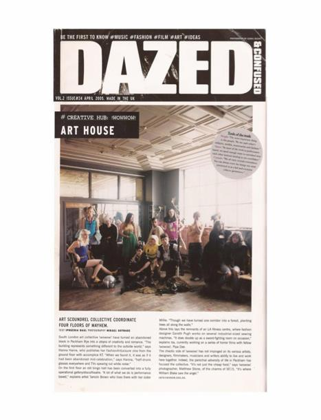 !WOWOW! // Our Art Collective circa 2005 shot in our Peckham squat