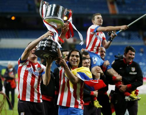 Atletico Madrid - Copa del Rey champs!