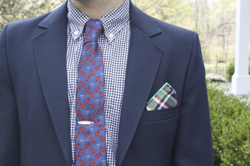 thetieguy:  A huge thank you to G.H. Bass for the necktie and Loft Trading for the pocket square. Follow me on instagram for more pictures similar to this.  Are you telling me that if I post enough pictures like this to my Tumblr, I'll get free clothes?