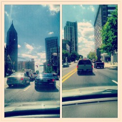 On my way home #Atlanta #Atl #PonceDeLeon #10thSt #Midtown