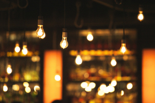 over-ture:  lightbulb lighting by wanderingstoryteller