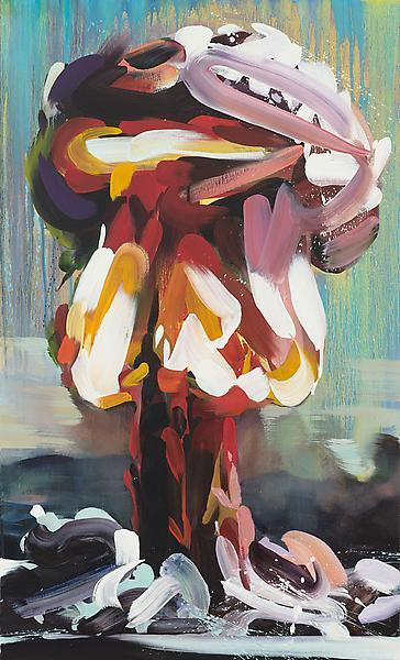 "youreac:   ""Boom 5,"" 2011, Oil on canvas, 48 x 29 inches, 121.9 x 73.7 cm, A/Y#19920"