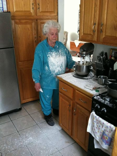 I want to be her when I'm old.