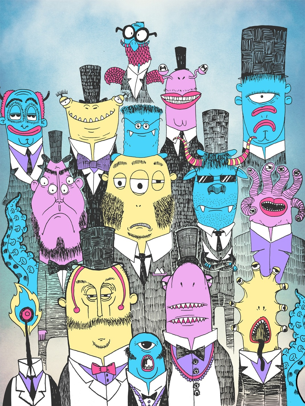 """A Few Good Monsters"" Ismael Sandiego  (Philippines) via Curioos"