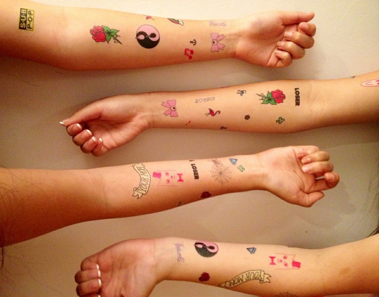 florialus:  terrible-being:  tats fun for everyone  I have these there from urban outfitters
