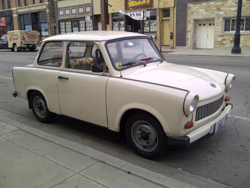 Fled to the US Starring: Trabant 601 (by artistmac)
