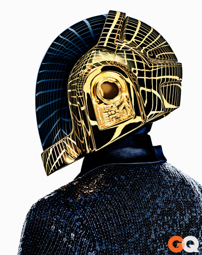 gq:  Daft Punk for GQ