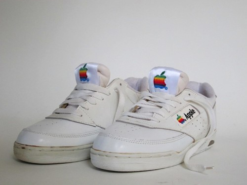 jaymug:  Vintage Apple 90's Sneakers  STILL WANT