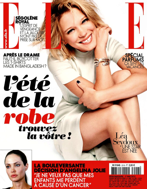 Léa Seydoux for ELLE France (May 2013)