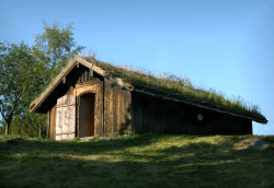 thunorsdottir:  Norse Architecture by ~Navanna  Taken by me at the viking farm