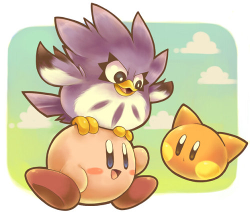 kirby and metanight by *SakikoAmana hi there by *SakikoAmana