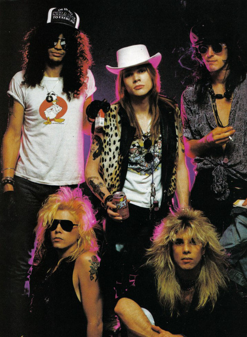 allrockallday:  Guns N Roses