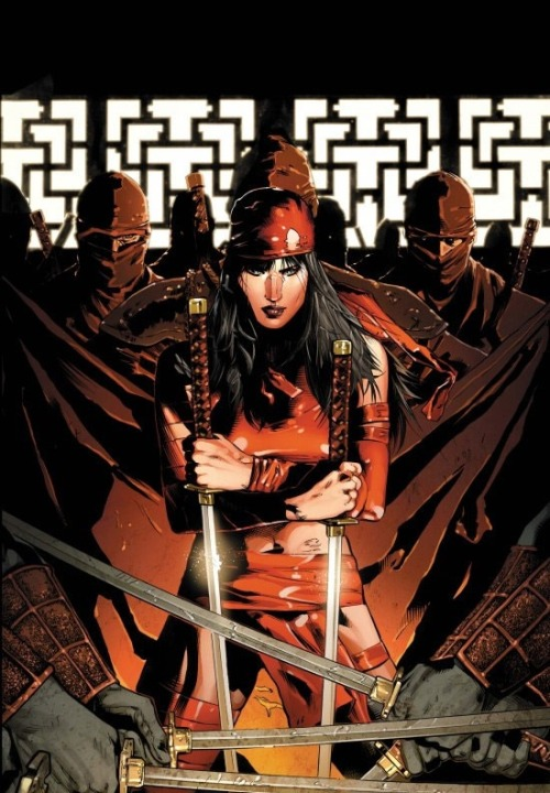 withgreatpowercomesgreatcomics:  Elektra by Clay Mann