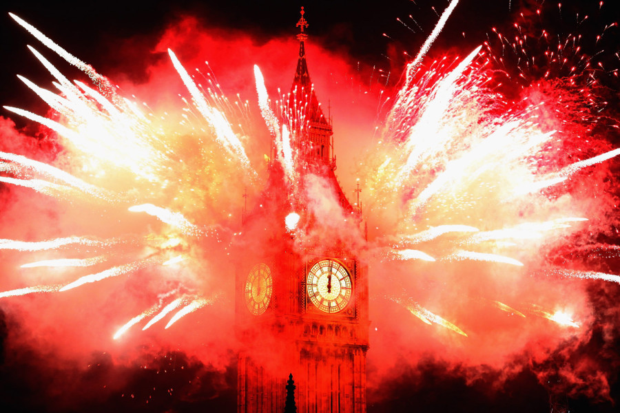 (Photo: Dan Kitwood—Getty Images) Happy New Years! TIME presents a look back on last year through 366 photos — one for each day. See them here.