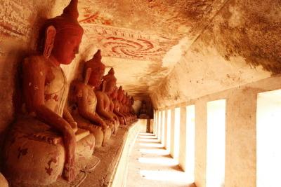 Po Win Daung Caves, Buddhas cave, Myanmar