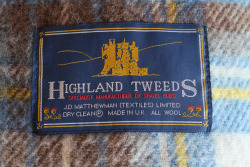 highland tweeds / woolen blanket