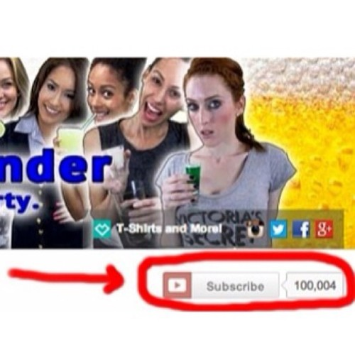 Thanks to all of you for getting us to 100,000 subscribers! We love you guys! 😃
