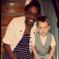 Looking good for his Pre-K graduation! :)