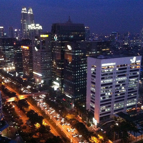 Once upon a night at Jakarta #teguhbudiono