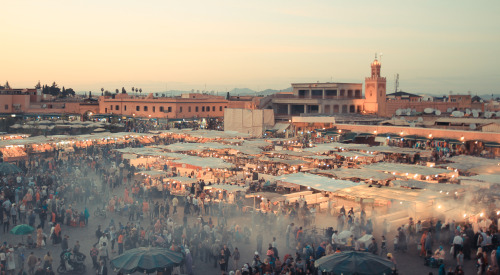 Another amazing picture of Marrakesh.